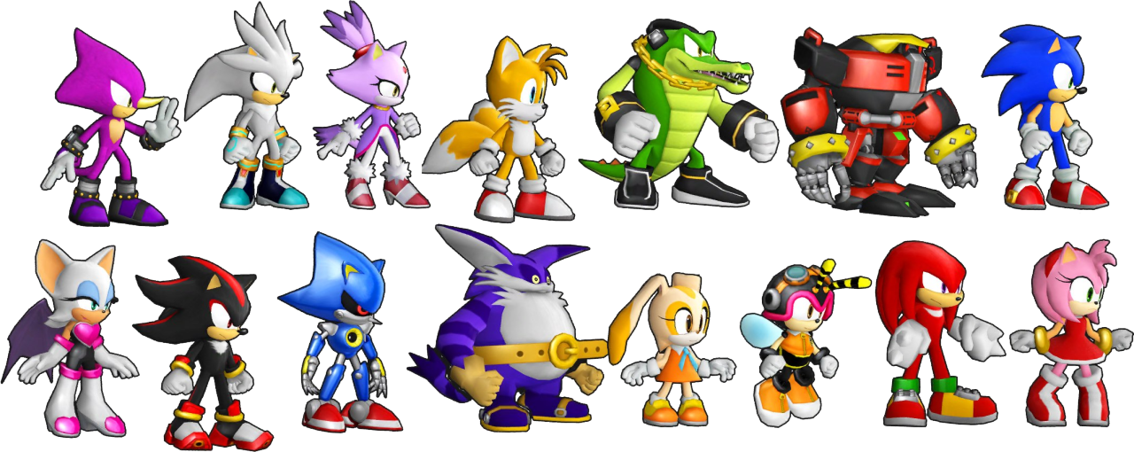 Download Sonic Runners Assets Uncovered Reveals New Characters Sonic The Hedgehog Sonic Characters Full Size Png Image Pngkit