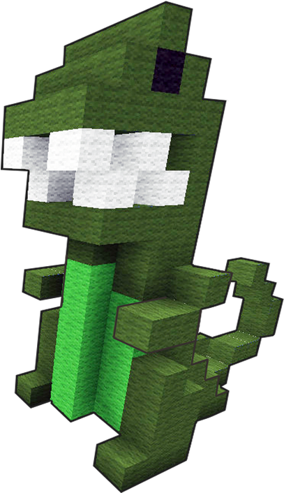 Download Let S Build A Little Green Dinosaur In Minecraft