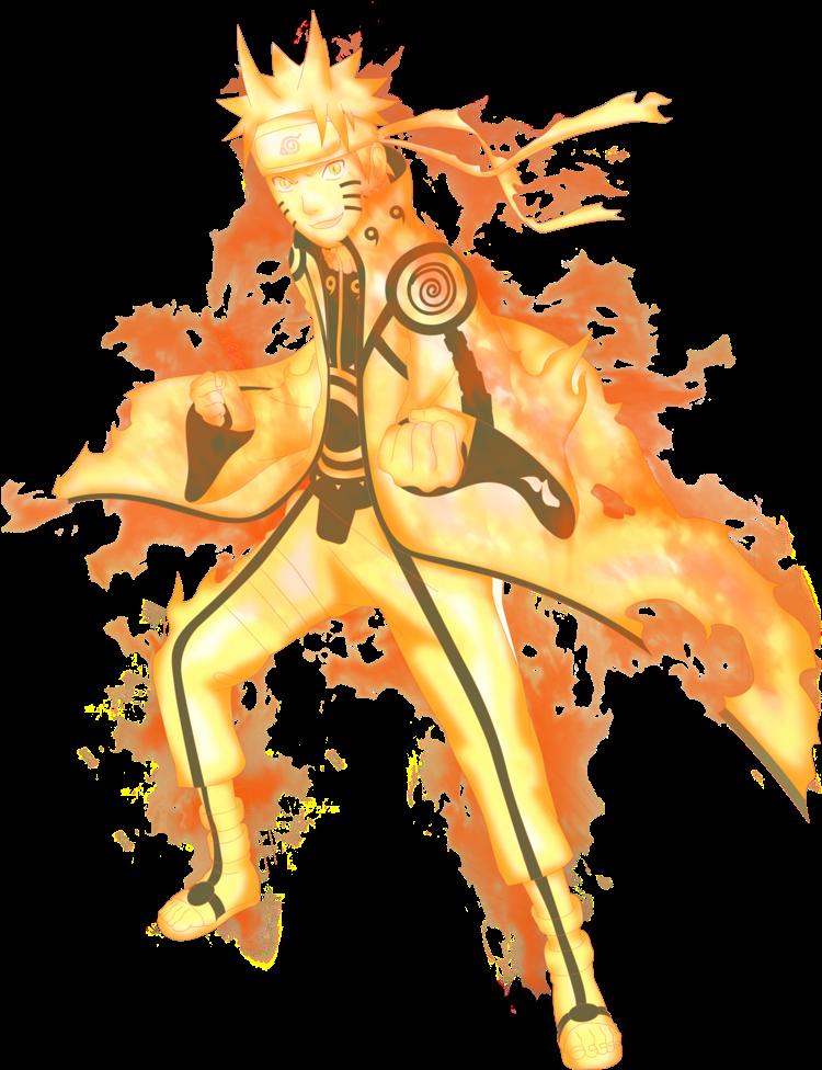 Download Bijuu Uzumaki Naruto Shippuuden 33458272 774 1032 Naruto Kurama Mode Render Full Size Png Image Pngkit