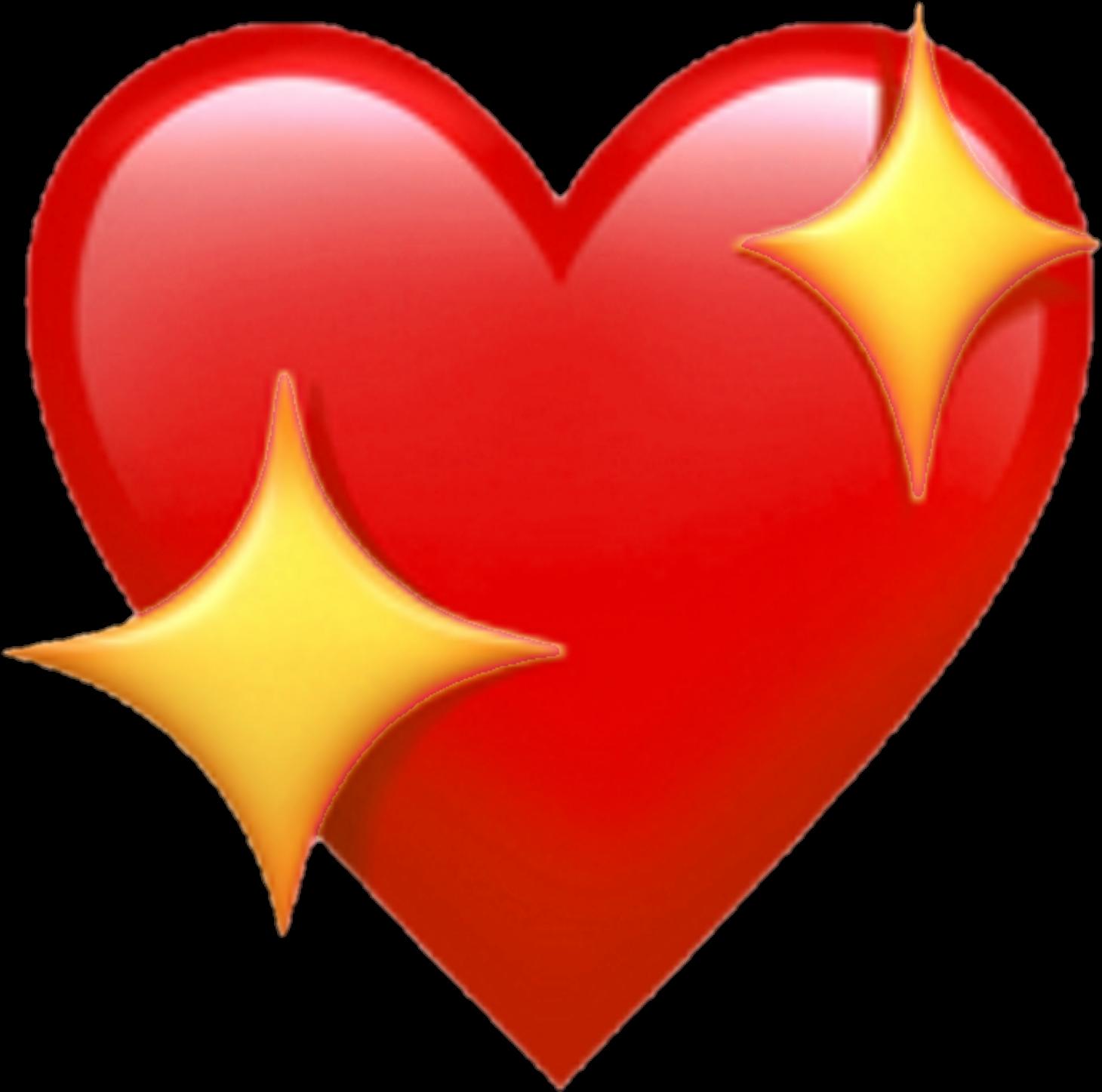 Download Transparent Emojis Red Heart   Heart Emoji Png   Full ...