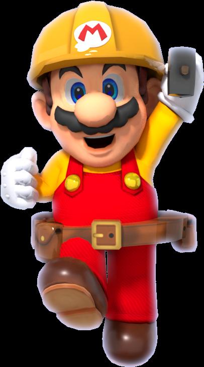 Download Super Mario Maker Png Vector Transparent Stock - Mario