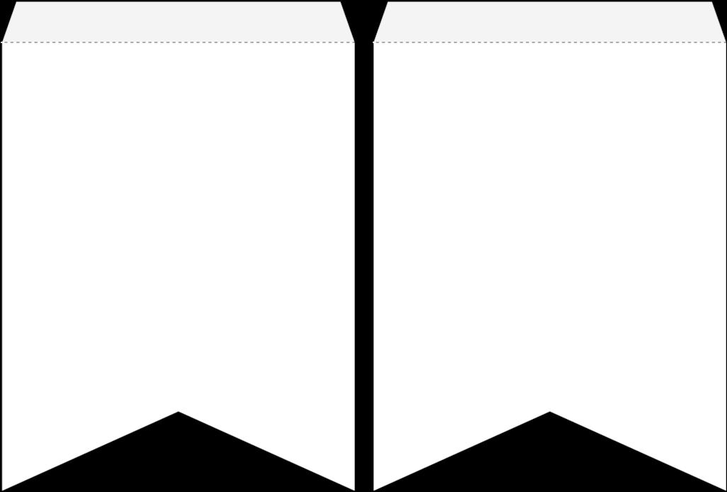5 X 6 Wimpel Vorlage Banner Vorlage Bunting Etsy 1