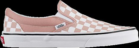 Download Vans Classic Slip On - Mahogany Rose Checkerboard ...
