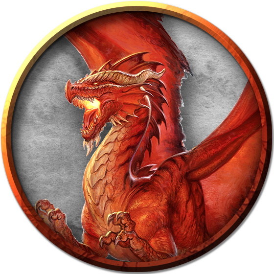 Download Adult Red Dragon - Red Dragon Png D&d - Full Size ...