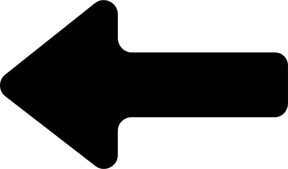 Download Directional Left Arrow Symbol - Icon - Full Size PNG Image - PNGkit