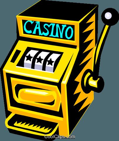 Slot Machine Clip Art