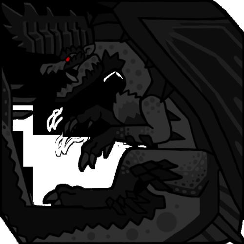 Download Mha2 Black Alatreon Icon Monster Hunter Alatreon Icon