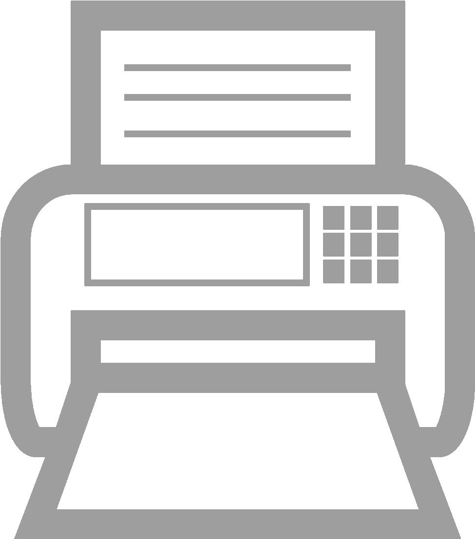 Download Fax Icon Png 4909 - Fax Machine Logo Png - Full Size PNG Image - PNGkit