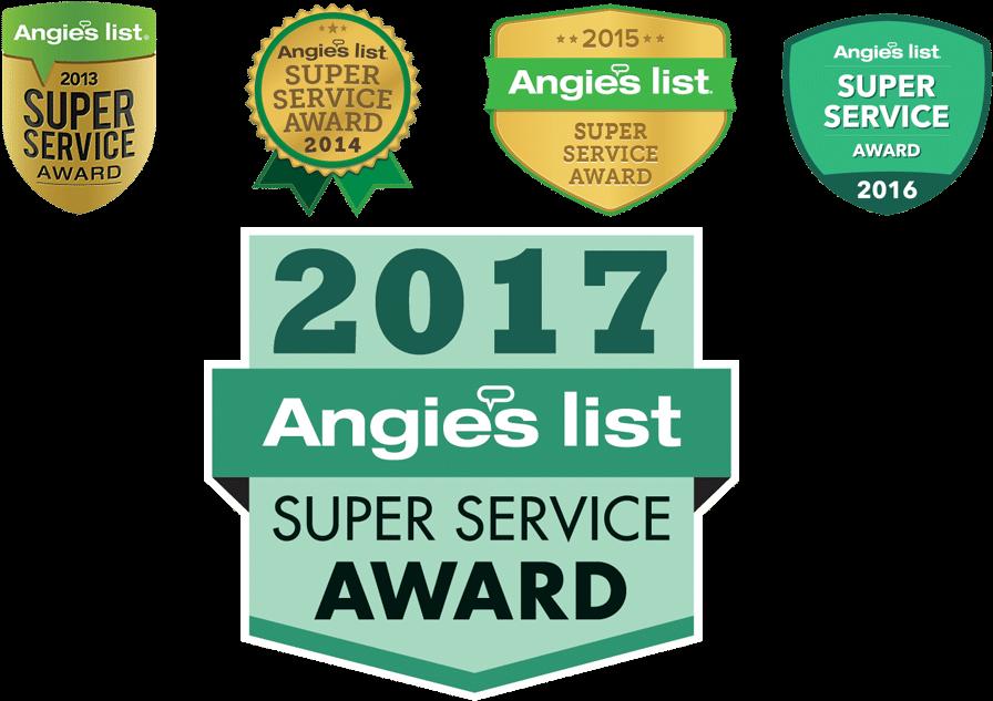 Download Multiple Award Winner - Angie's List Super Service Award
