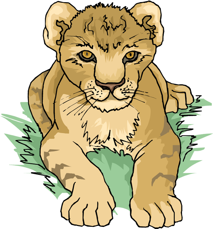 Lion Free Clipart - Png Download (#5429891) - PinClipart