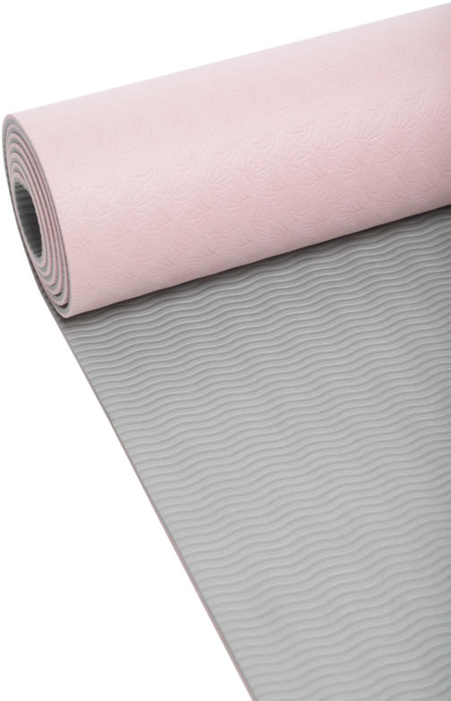 Download Casall Yoga Mat 4mm Pink Light Grey Casall Yoga Mat Position 4mm Lyserod Gra Unisex Full Size Png Image Pngkit