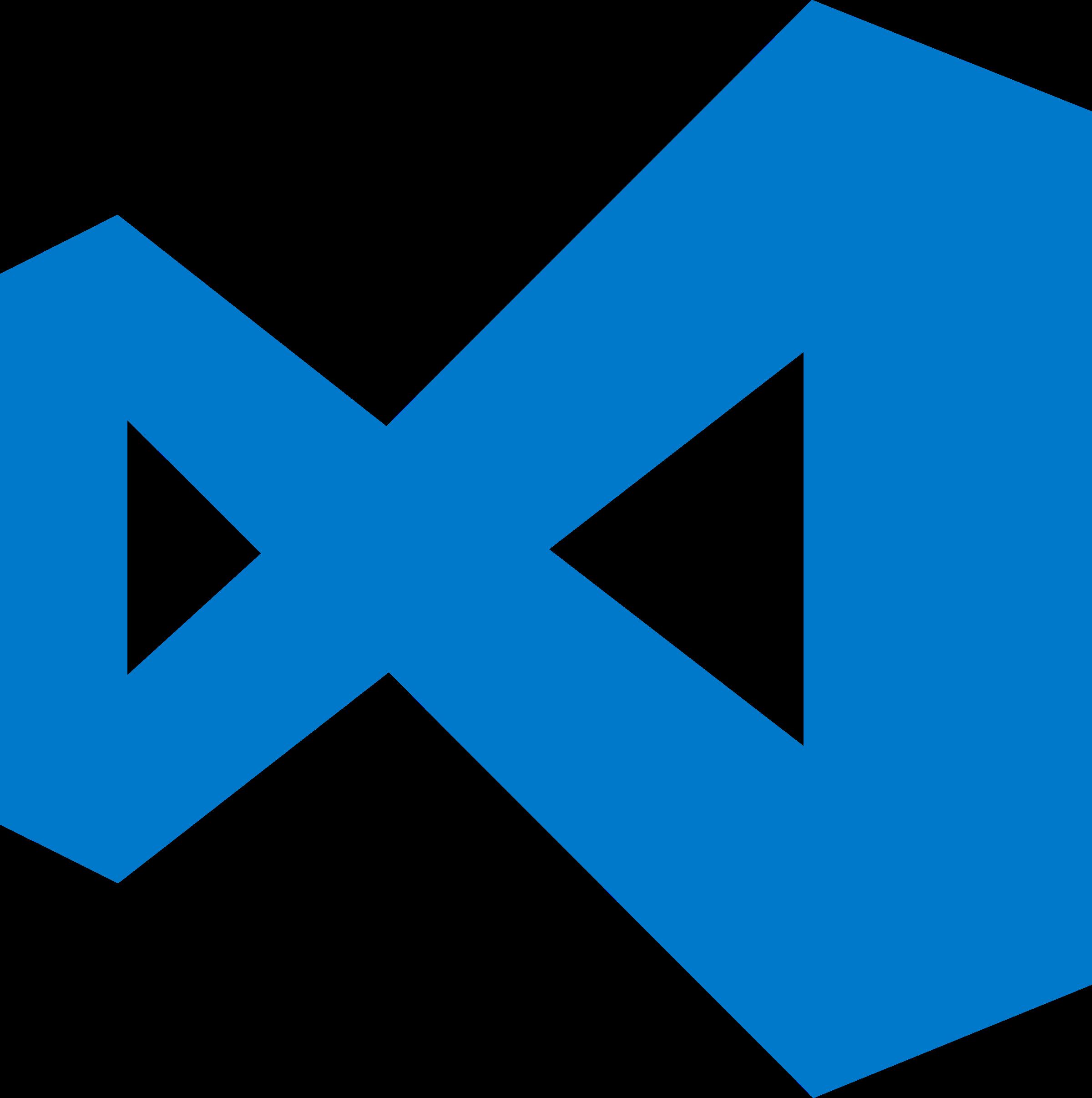 Download Visual Studio Code Logo Png Transparent Visual Studio