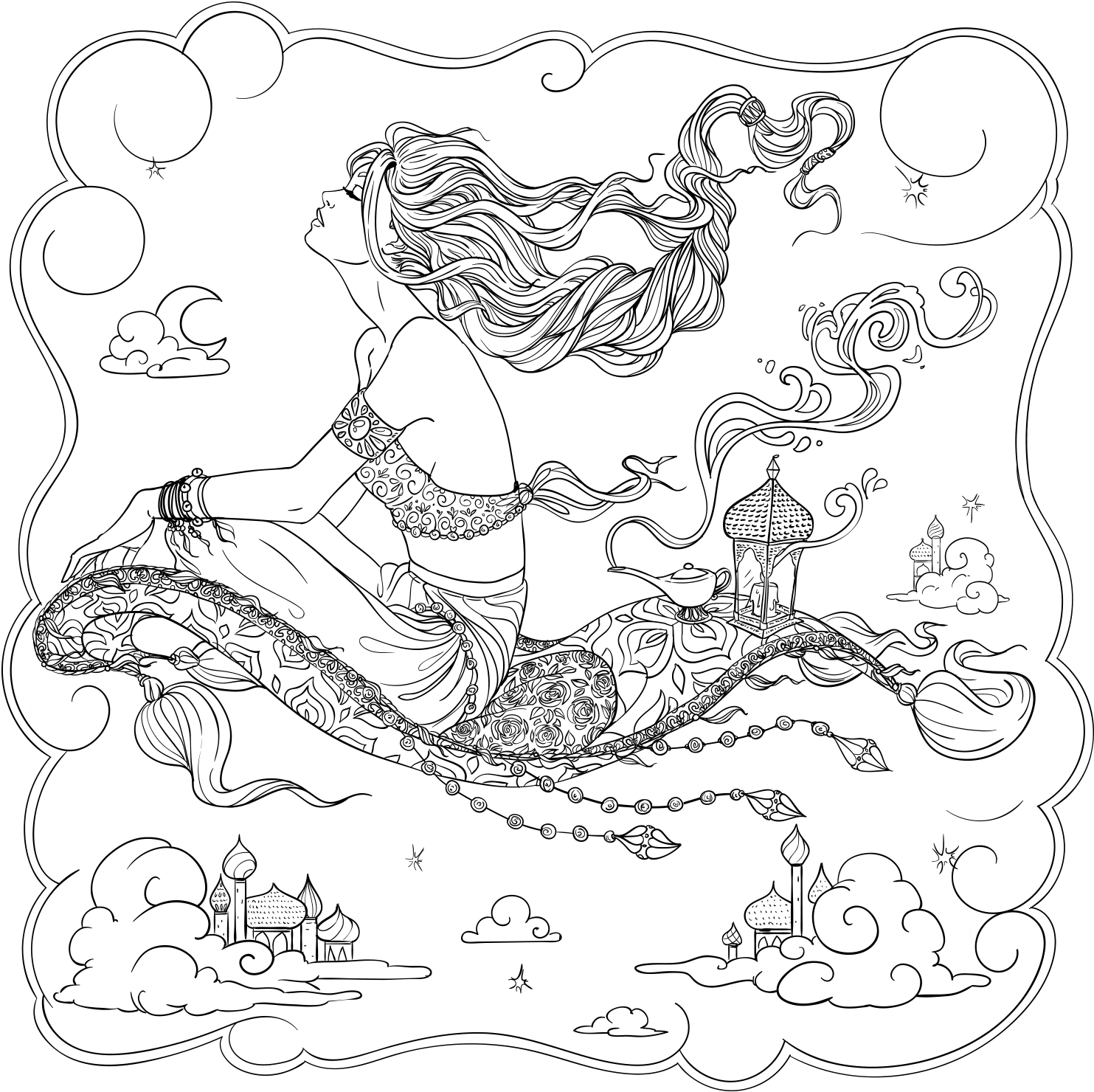 - Download Free Adult Coloring Pages Printable Pdf For Stress