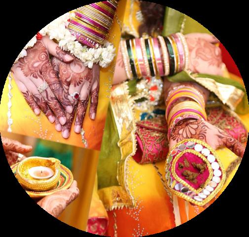 Download Indian Bride Groom Uae Wedding Indian Wedding Images Hd Png Full Size Png Image Pngkit