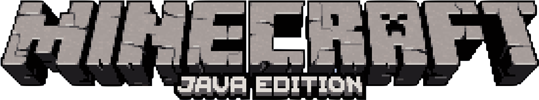 Download This Is The New Logo For The Java Edition Of Minecraft Logo De Minecraft 3d Full Size Png Image Pngkit