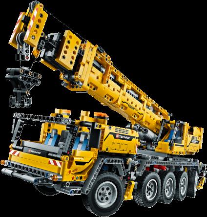 Download Lego Technic Crane Lego Mobile Crane Mk Ii 42009 Full