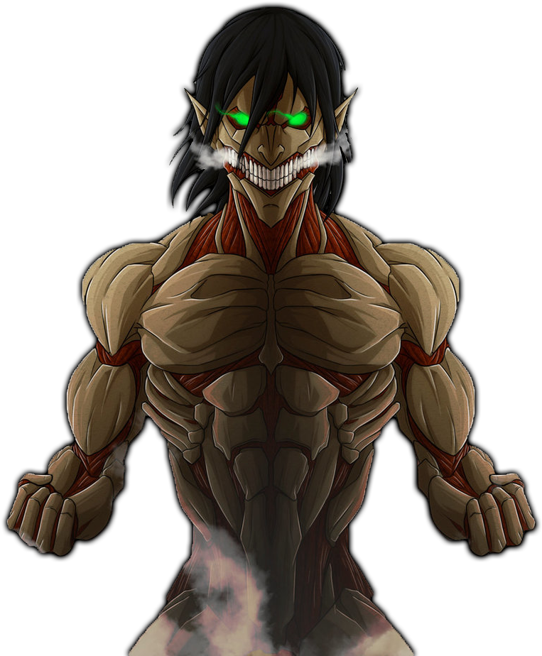 Download Related Wallpapers Attack On Titan Eren Armored Titan Full Size Png Image Pngkit