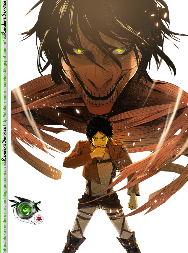 Download Eren Render Attack On Titan Eren Titan Form Full Size Png Image Pngkit