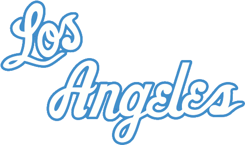 Download Sorry This Is Late But Here S The Logos For The 60 S Los Angeles Lakers Script Full Size Png Image Pngkit