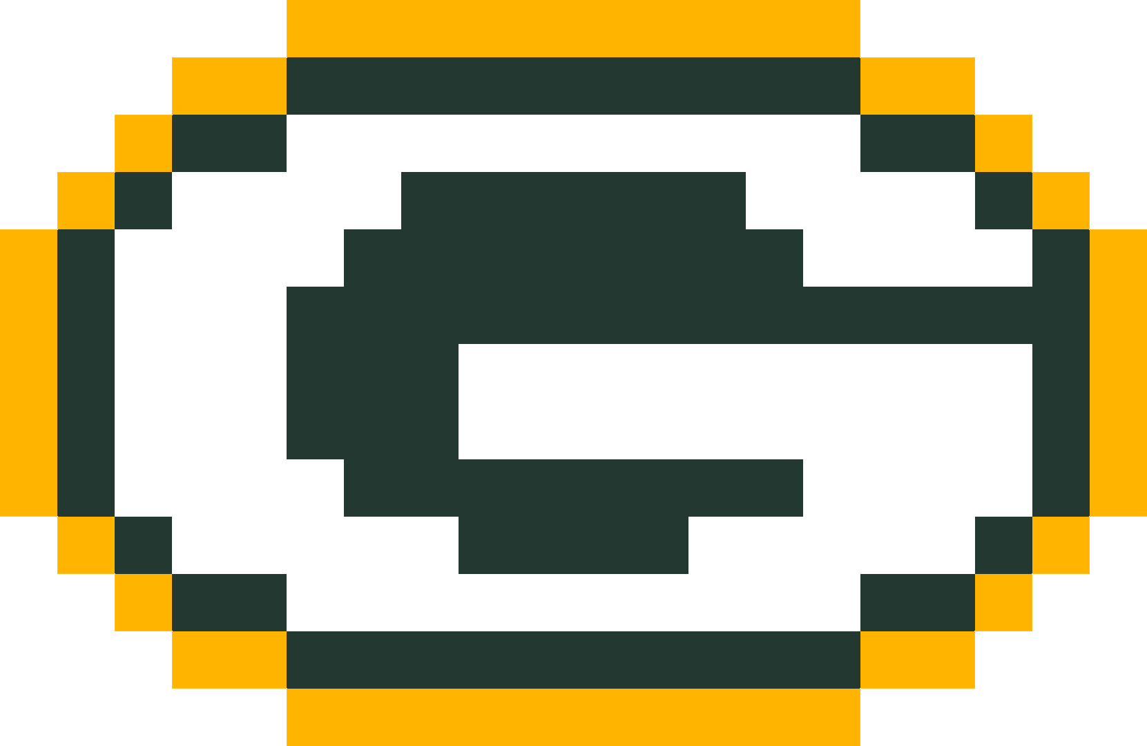 Download Minecraft Green Bay Packers Logo Terraria Slime Pixel Art Full Size Png Image Pngkit