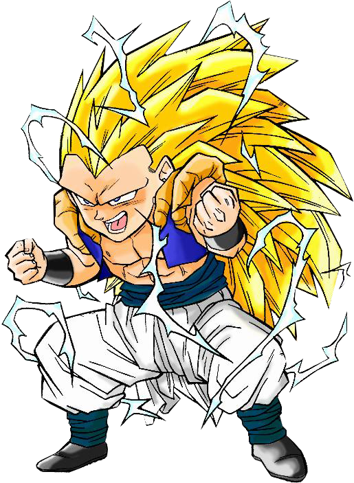 Download Gotenks - Dragon Ball Z Coloring Pages - Full Size PNG Image -  PNGkit