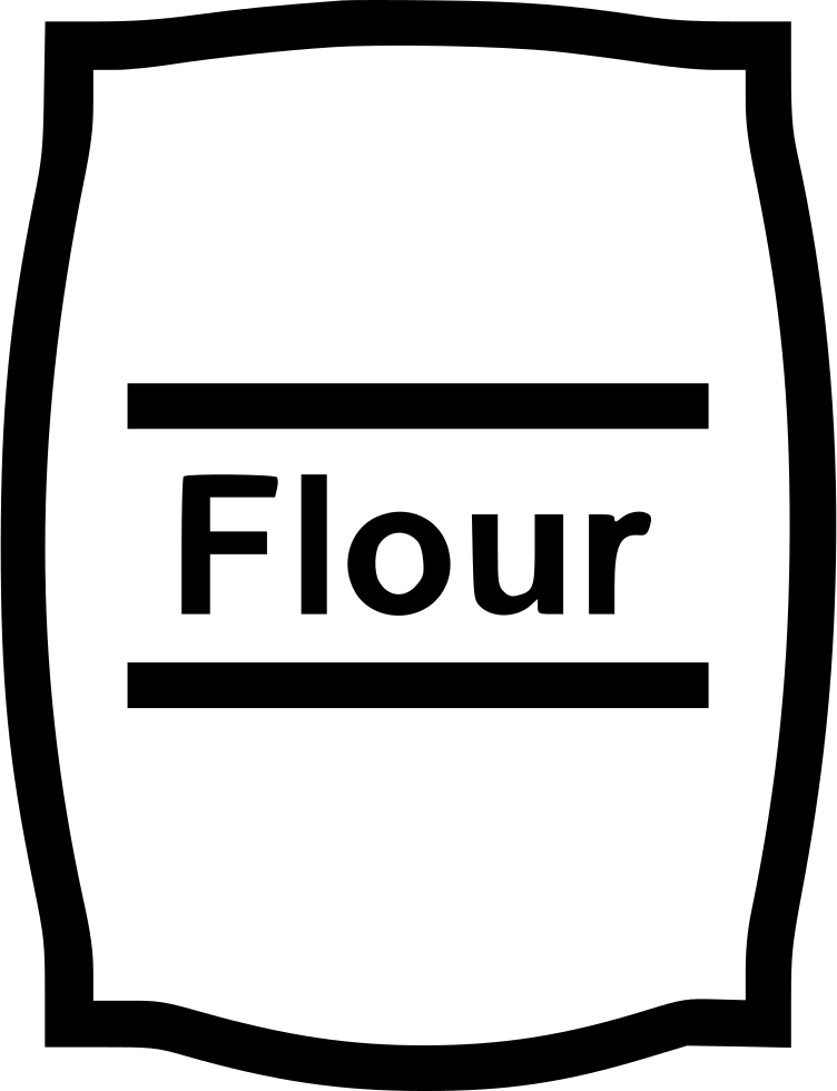 download flour bag comments black and white flour clipart full size png image pngkit download flour bag comments black and