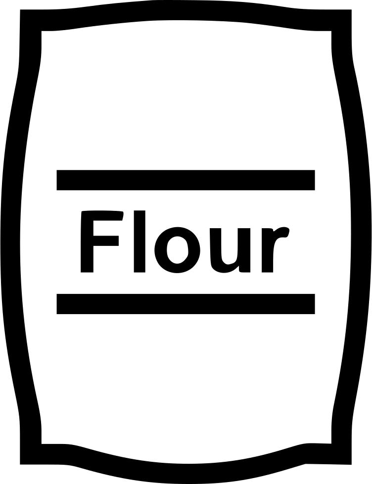download flour bag comments black and white flour clipart full size png image pngkit download flour bag comments black and