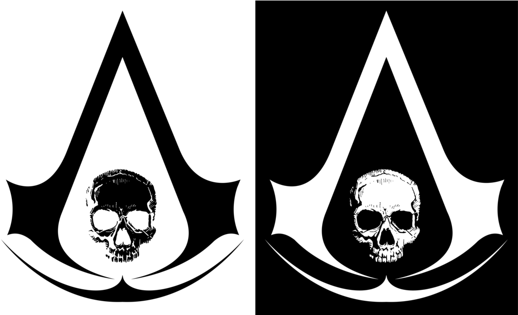Download Transparent Stock Assassin S Creed Black Flag Skull