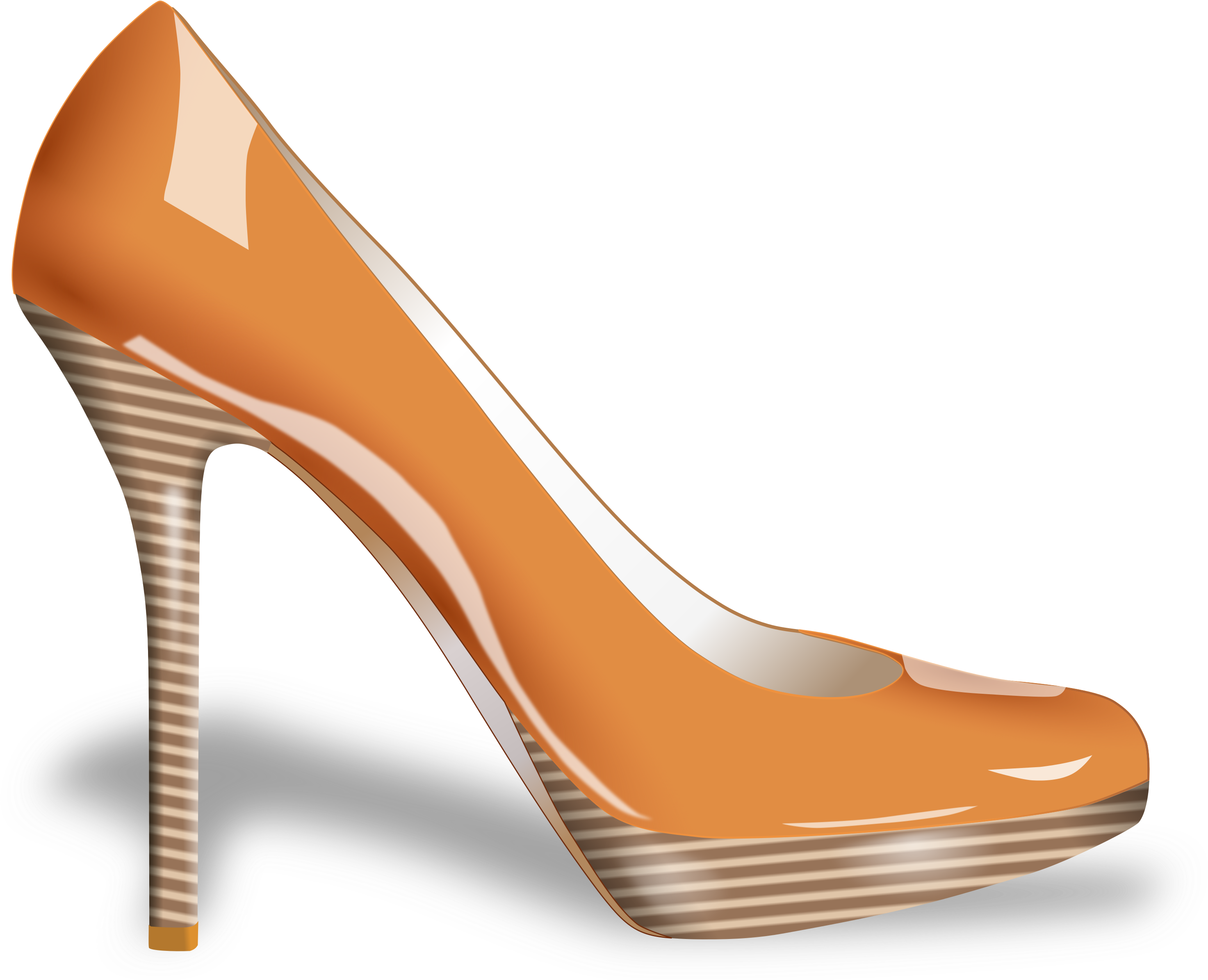 Download Fashion Clipart Fashion Shoe Cartoon High Heels Full Size Png Image Pngkit