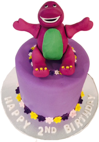 Excellent Download Barney Birthday Cake Barney Birthday Cake Png Full Personalised Birthday Cards Cominlily Jamesorg