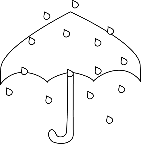 download black and white black and white rain umbrella black and white cute rain clipart full size png image pngkit pngkit