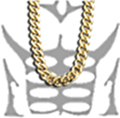 Download Gold Chain Roblox T Shirt Muscle Full Size Png Image Pngkit