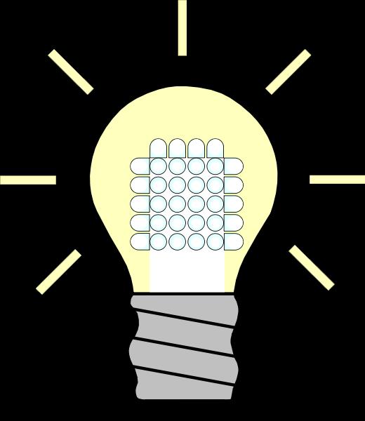 Download Lightbulb Led Light Bulb Clipart Clipartfest Poster
