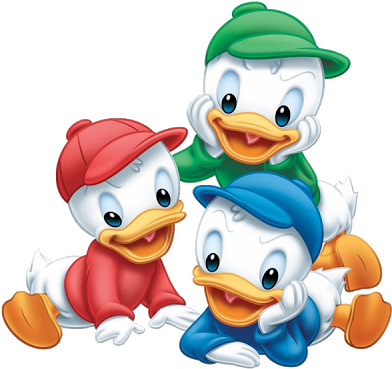 Download Disney Cartoon Characters Clipart Com Free For Donald Duck Babies Full Size Png Image Pngkit