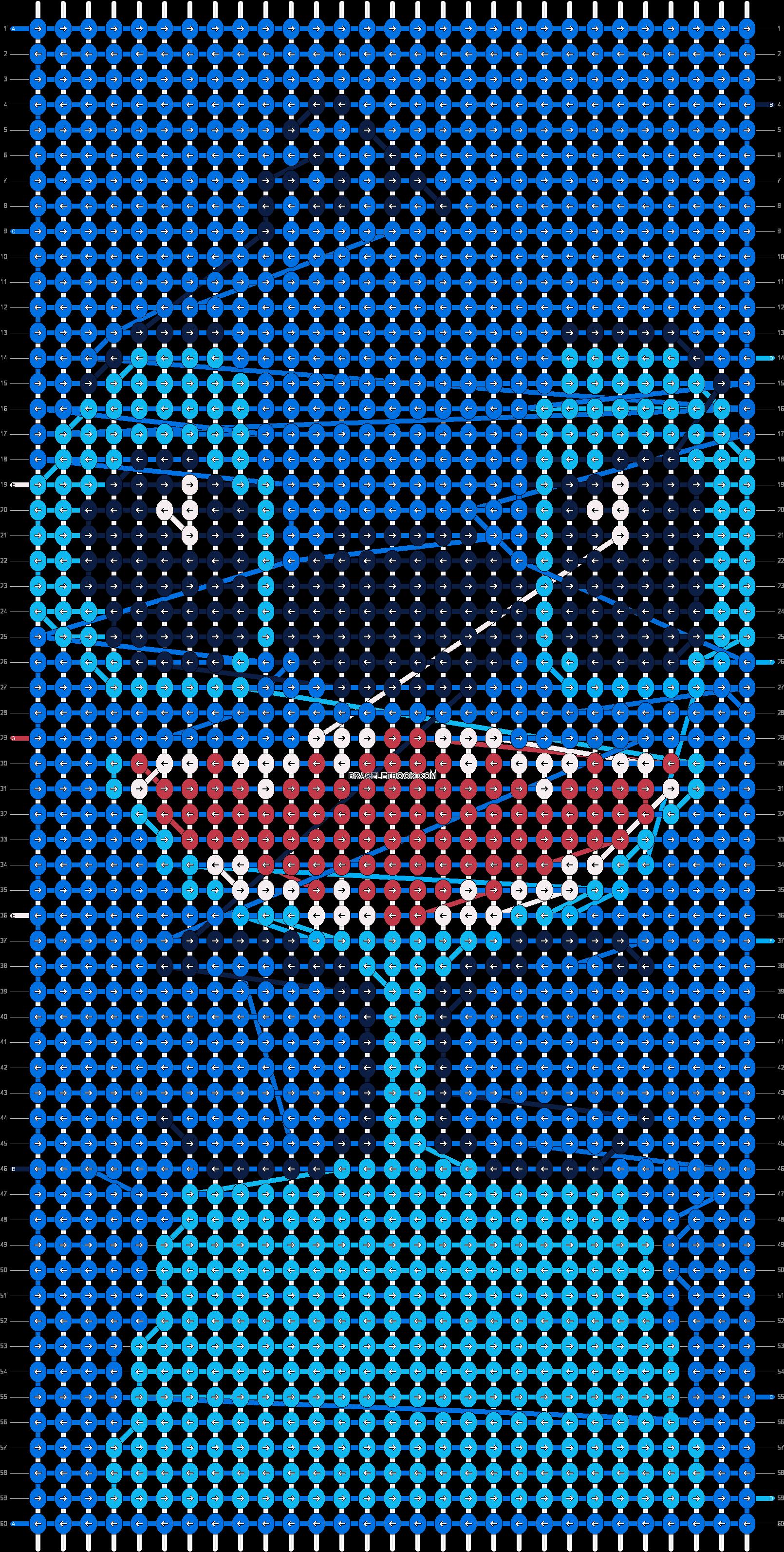 Download Pattern Stitch Friendship Bracelet Patterns Full Size Png Image Pngkit