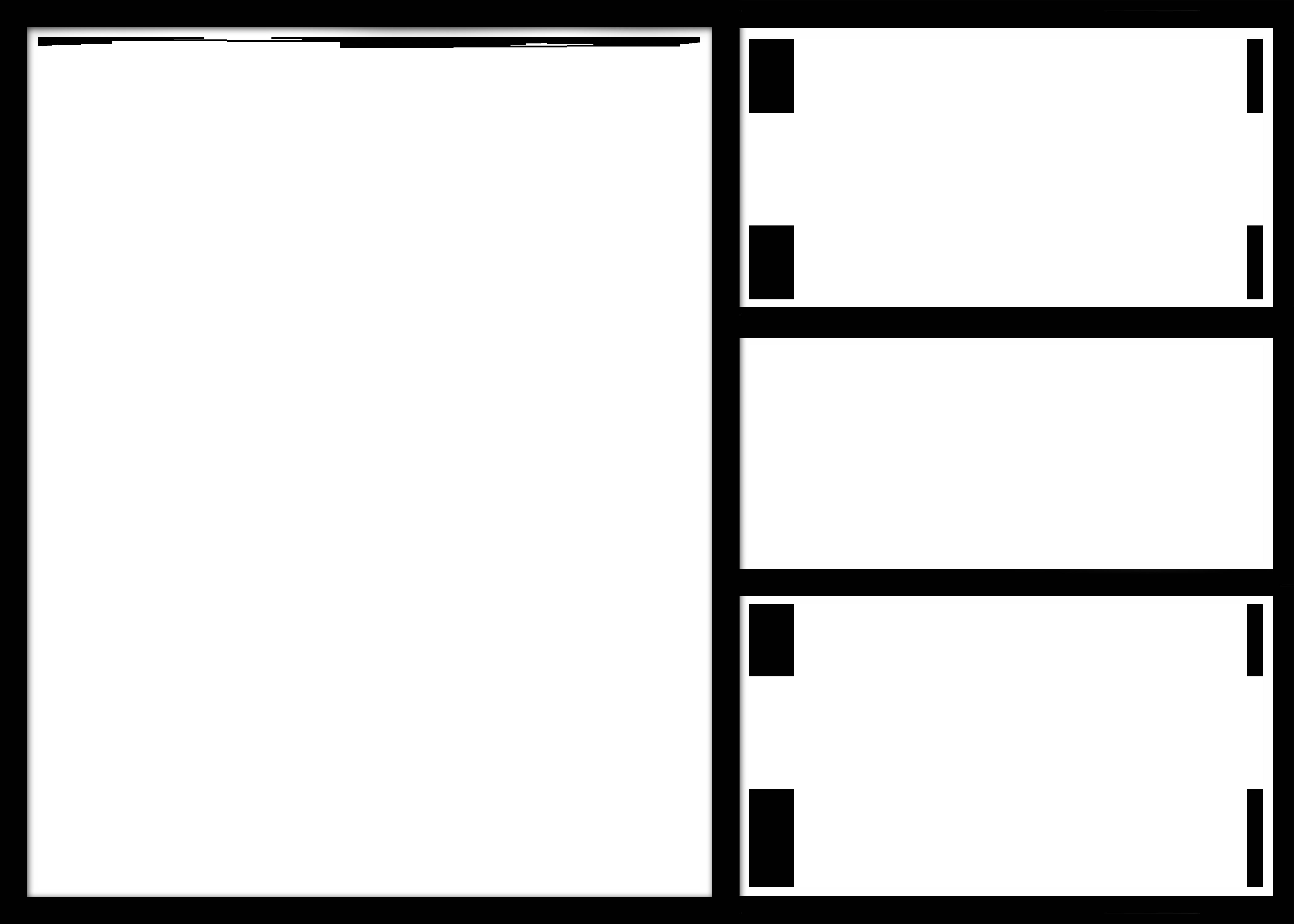 Multi Photo Frames Png Image