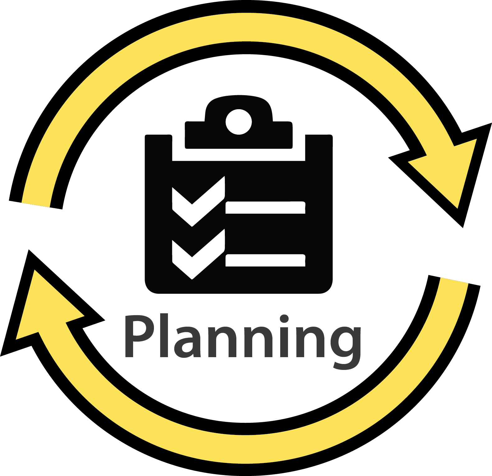 Download Planning Cycle Icon - Material Requirement Planning Icon - Full Size PNG Image - PNGkit