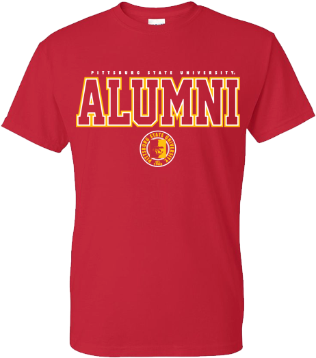 Download Transparent Pitt State Alumni Outline Tee Shirt - Tiny Moving Parts Merch - PNGkit