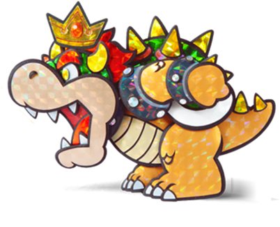 Download King Bowser - Paper Mario Sticker Star Bowser