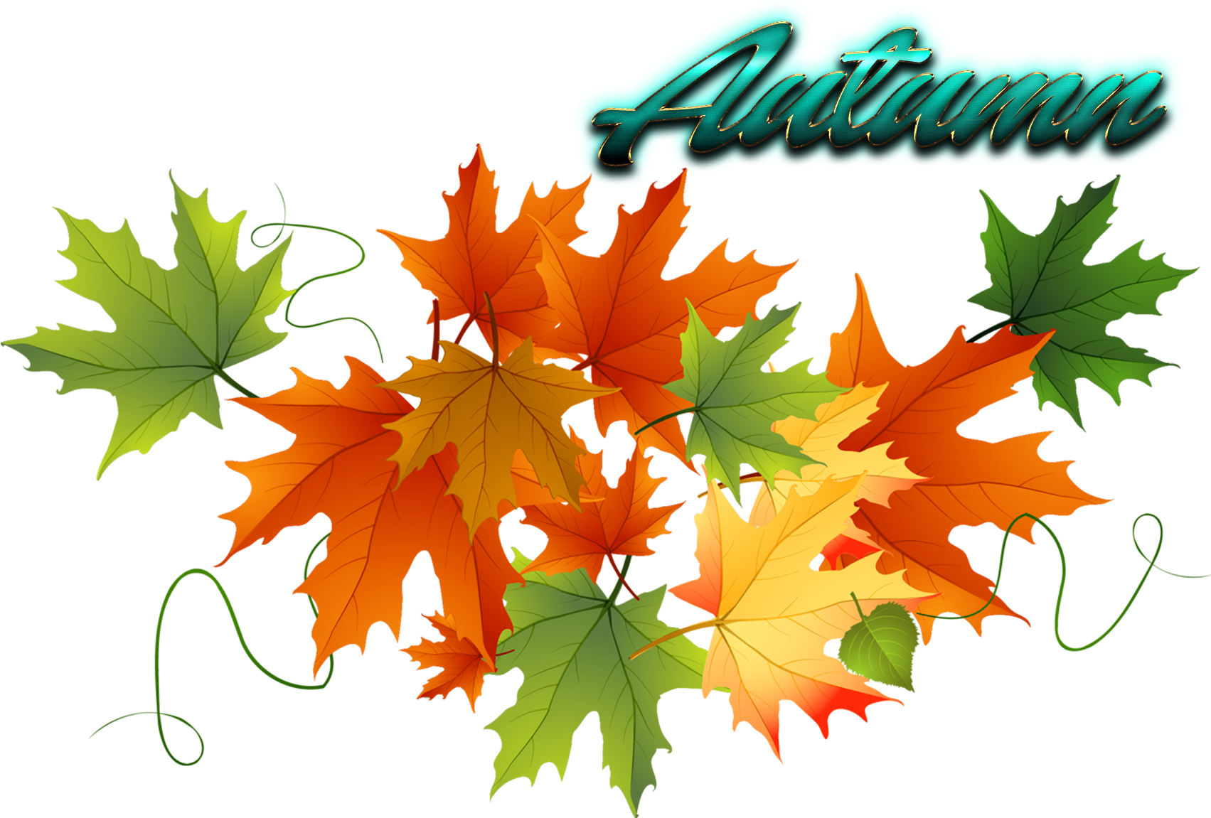 free clipart leaves - Clip Art Library