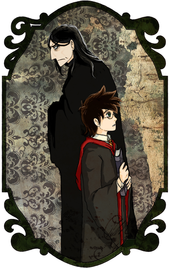 Download Severus Snape Clipart Professor Snape Harry Potter And The Half Blood Prince Snape Fanart Full Size Png Image Pngkit