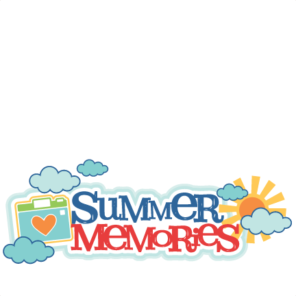 Download Summer Memories Title Svg Scrapbook Cut File Cute Clipart Summer Memories Clipart Full Size Png Image Pngkit