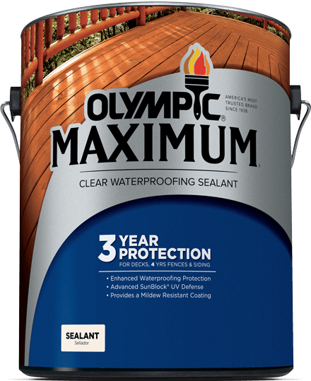 Download Olympic Stains Olympic Maximum Sealant Review Full Size Png Image Pngkit