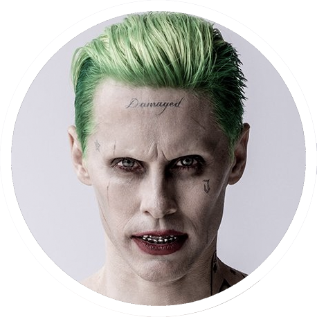 Download Portal Joker Suicide Squad Joker Haircut Full Size Png Image Pngkit