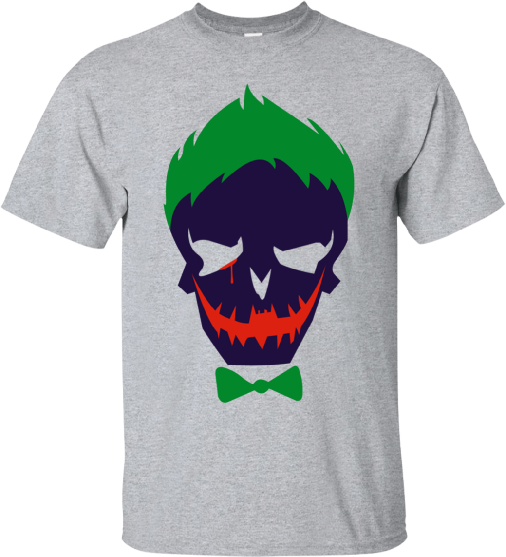 Download Suicide Squad Joker Shirt Hd Wallpaper Joker Pc Full Size Png Image Pngkit