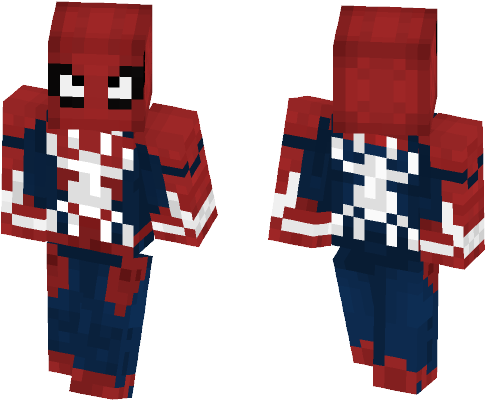 Download Comics Minecraft Skins - Skin Spider Man Ps4 Minecraft