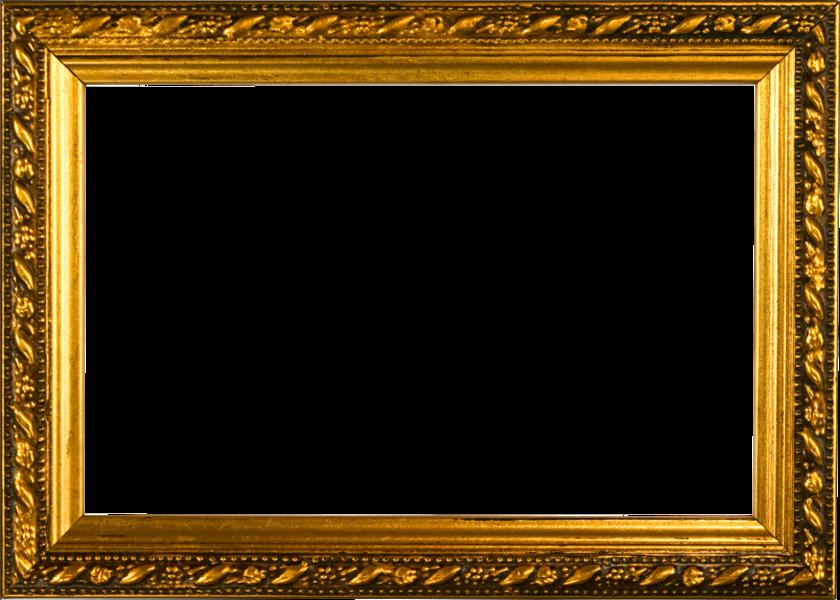 Download Gold Frame Border Png - Old Photo Frames Png ...