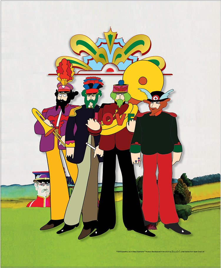 Download Double Tap To Zoom Yellow Submarine Beatles Sgt Pepper