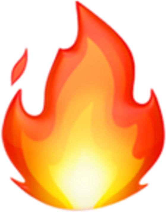 Download Fire Emoji Emojis Iphone Tumblr Sticker By Adesv Fire Emoji Ios 11 Full Size Png Image Pngkit