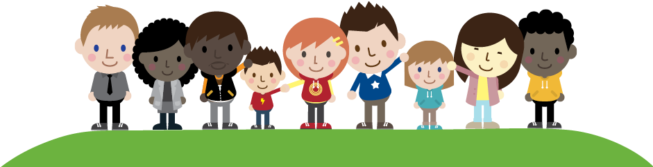 Download Join The Genr8 Change Community Cartoon People In A Community Full Size Png Image Pngkit